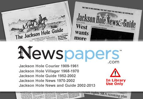 Jackson Hole Archived Newspaper