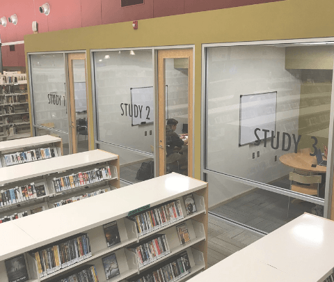image of library study rooms