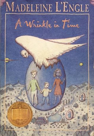 A Wrinkle in Time Book Cover