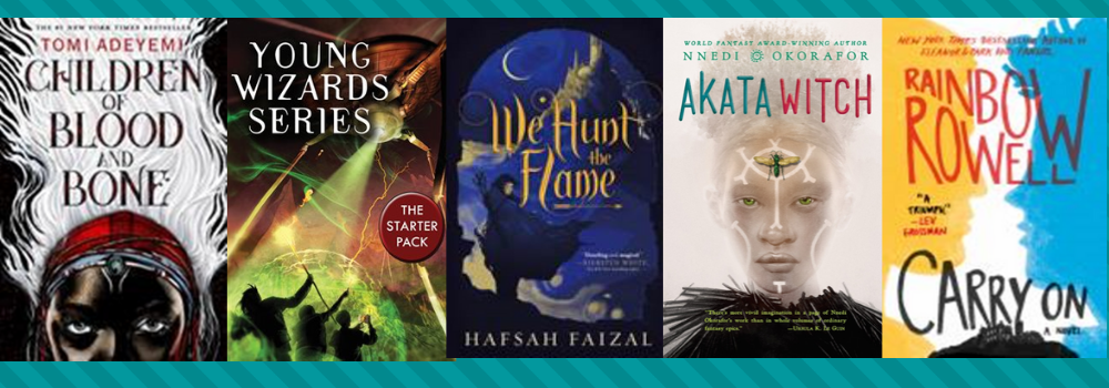 Images of magical world book covers
