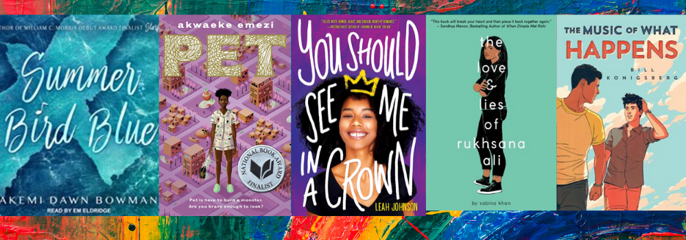 images of YA book covers