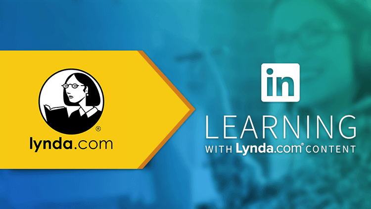image showing the lynda.com logo and an arrow pointing to linkedin learning logo