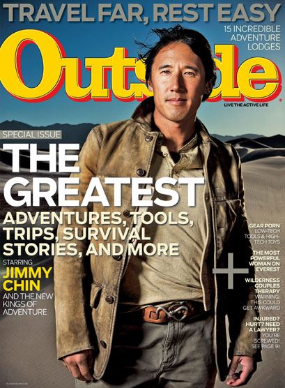 image of the cover of outside magazine