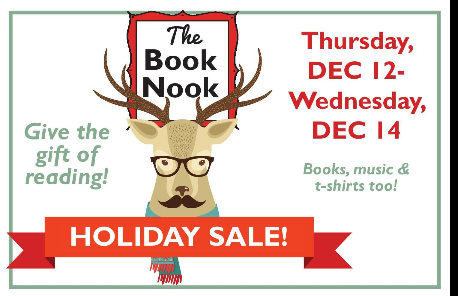 image for holiday book sale